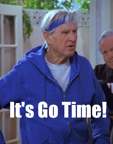 Izzy Mandelbaum, ultimate workout master.